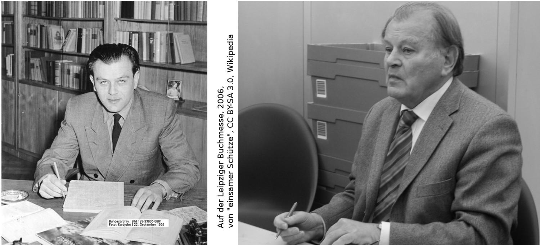 Erich Loest, 1955 und 2006