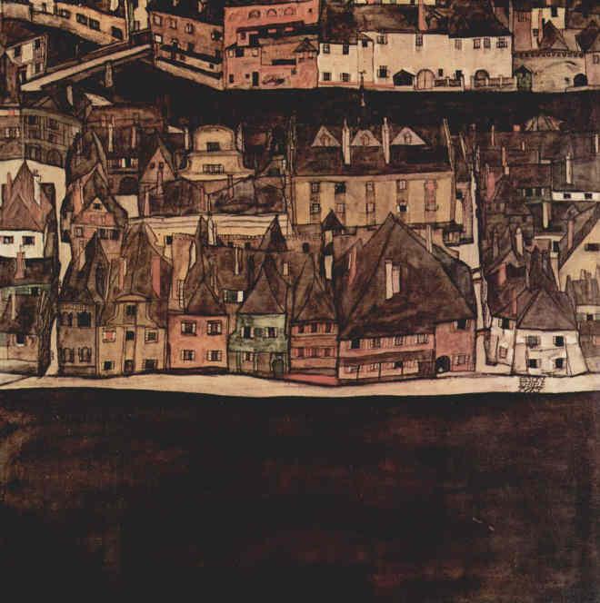 Egon Schiele: Die kleine Stadt II