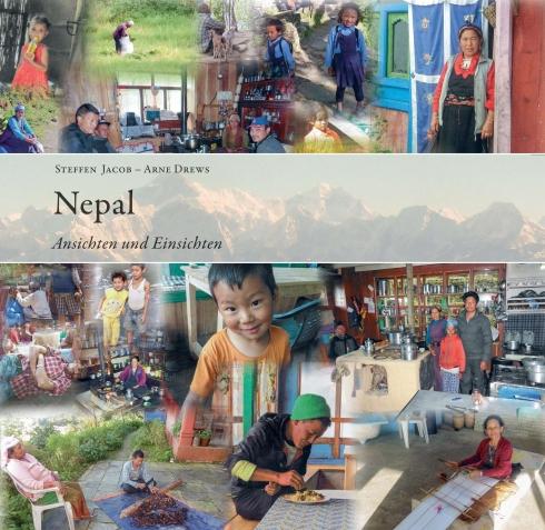 Titelbild des Nepal-Buchs von Steffen Jakob