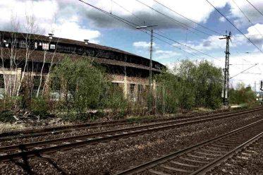 Gleise ohne Zug