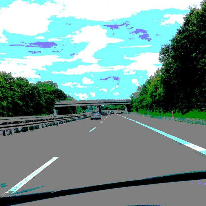 Wir fahrn fahrn fahrn auf der Autobahn
